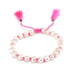Handmade Fresh Water Pearl Bead Bracelet