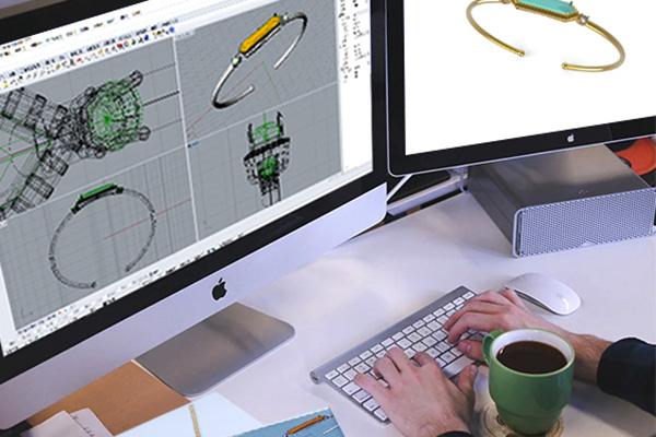 Fashion Jewelry 3D Design