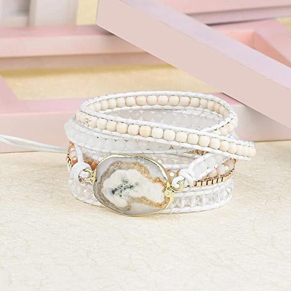 Natural Stone Bohemian Stackable Bracelet