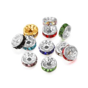 Rhinestone Spacer Beads