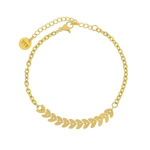 Wheat Stainless Steel Bracelet