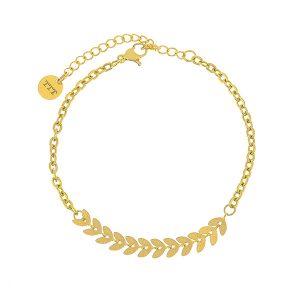 Wheat Stainless Steel Bracelet