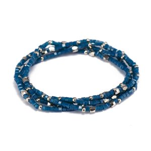 Handmade Mutilayer Crystal Beads Bracelet
