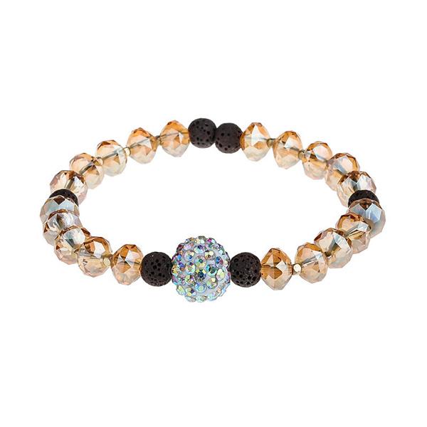 Dazzle Shine Crystal Beads Bracelet