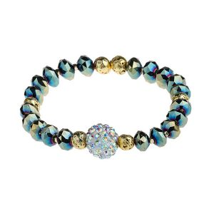 Dazzle Shine Crystal Beads Bracelet