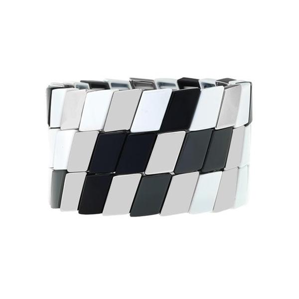 Parallelogram Prestige Enamel Bracelet