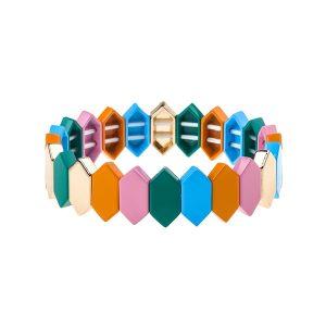 Vogue Stackable Enamel Bracelet